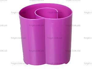 Стакан канцелярский «Долго и счастливо», фиолетовый, 470347, фото