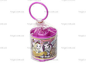 Стакан канцелярский «Долго и счастливо», фиолетовый, 470347