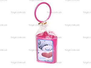 Стакан канцелярский  «Мишка Тедди», фиолетовый, 470339