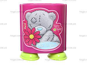 Стакан канцелярский «Мишка Тедди», розовый, 470341, купить