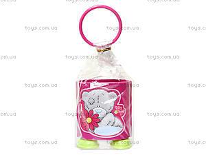 Стакан канцелярский «Мишка Тедди», розовый, 470341