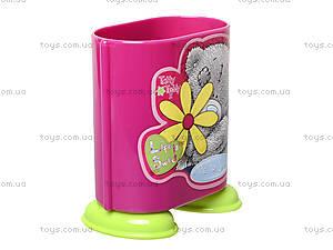 Стакан канцелярский «Мишка Тедди», розовый, 470341, отзывы
