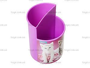 Стакан канцелярский Pets, розовый, 470343, купить