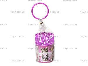 Стакан канцелярский Pets, розовый, 470343