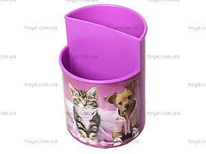 Стакан канцелярский Pets, розовый, 470343, отзывы
