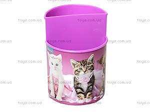 Стакан канцелярский Pets, розовый, 470343, цена