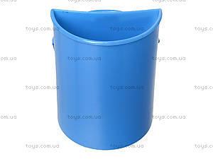 Стакан канцелярский «Самолетики», голубой, 470355, купить