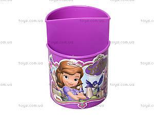 Стакан канцелярский «София», фиолетовый, 470345, цена