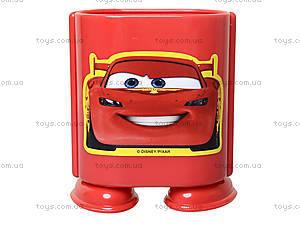 Стакан канцелярский «Тачки», красный, 470233, цена