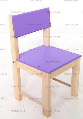 Детский деревянный стул, малый, ДУ221