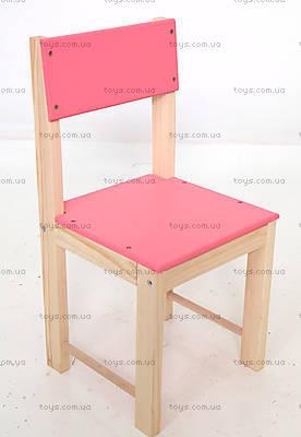 Детский деревянный стул, средний, ДУ222