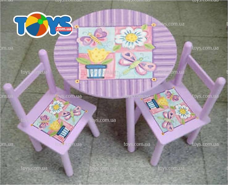 Красивый стул для девочки своими руками