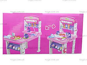 Стол доктора с набором инструментов, W086, магазин игрушек