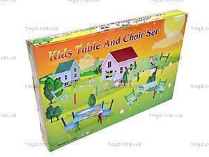 Стол и 2 стула для детей, W02-5316