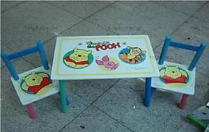 Стол и 2 стула «Винни Пух», B08806