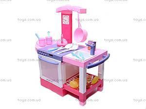 Стол «Кухня», бело-розовая, 011012