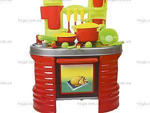 Стол - кухня «Ева» с посудой, 04-403, игрушки
