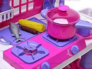 Стол кухонный с посудой, 61008, фото