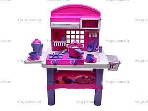 Стол кухонный с посудой, 61008