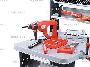 Стол мастера, с инструментами, W076, магазин игрушек