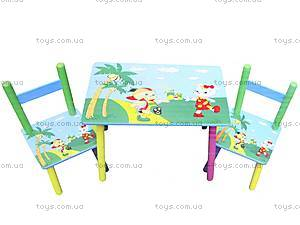 Стол со стульями «Джунгли», B18322