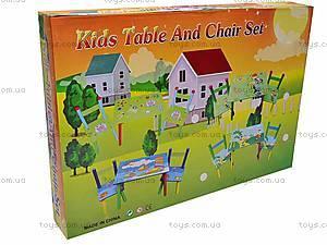 Стол со стульями «Кораблики», W02-3843, фото