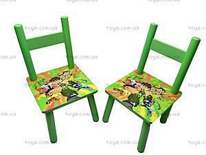 Столик деревянный и 2 стульчика, D11553, купить