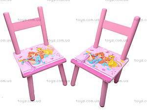 Столик деревянный с 2 стульчиками, 2547-34, купить