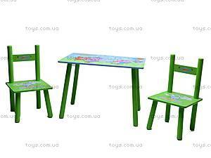 Столик и два стульчика «Смешарики», M0710, купить