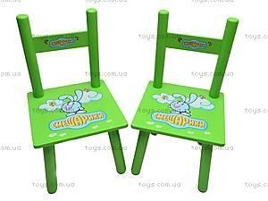 Столик и два стульчика «Смешарики», M0710, игрушки