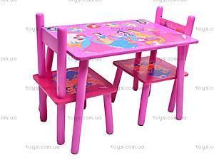 Столик и стулья «Принцесса», M1109, фото