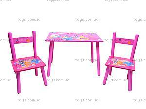 Столик и стулья «Принцесса», M1109