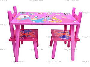 Столик и стулья «Принцесса», M1109, цена