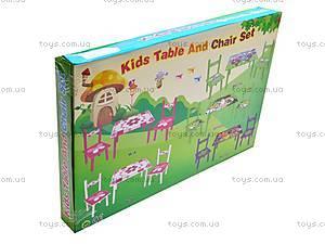 Столик и стулья «Принцесса», M1109, игрушки