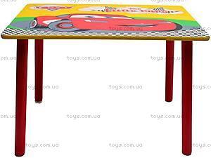 Столик и стулья «Тачки», M0292, купить