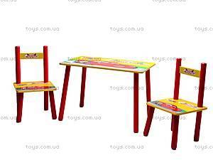 Столик и стулья «Тачки», M0292, отзывы