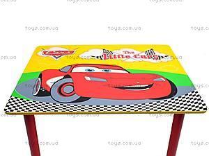 Столик и стулья «Тачки», M0292, игрушки