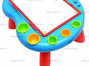 Столик-мольберт для рисования, 628-28, игрушки