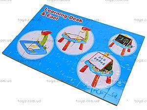 Столик-мольберт для рисования, 628-28, toys