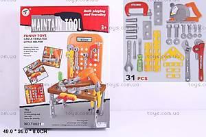 Столик с инструментами, 31 деталь, T8021-4
