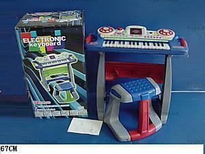 Столик-синтезатор со стульчиком, SK7878