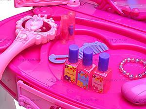 Столик туалетный с аксессуарами, 661-35E, игрушки