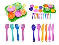 Столовый набор посуды «Ромашка», 39148