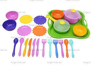 Столовый набор посуды «Ромашка», 39148, цена