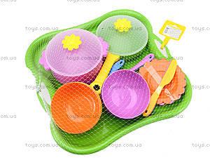 Столовый набор посуды «Ромашка», 39148, магазин игрушек