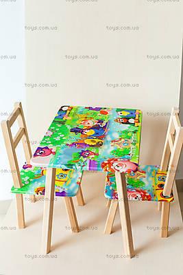 Детский столик со стульчиками «Смешарики», С030