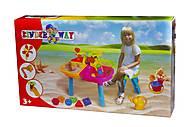 Столик для песка с аксессуарами, KW-01-122, фото
