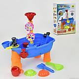 """Столик для песка и воды """"Кораблик"""", HG667, купить"""