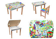 Столик для рисования «Карандаши», С111