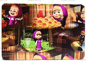 Столик-пенал «Маша и Медведь», розовый, С057, игрушки